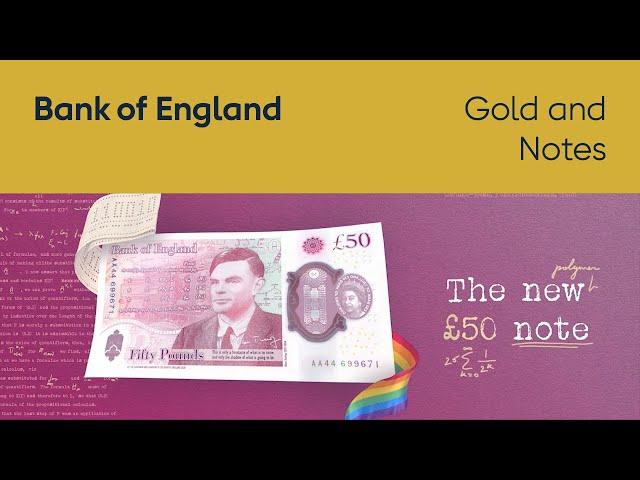 Банк Англии выпустил свою самую защищенную банкноту – на ней изображен Алан Тьюринг