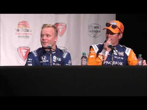 2019 IndyCar St  Pete GP Saturday Press Conference