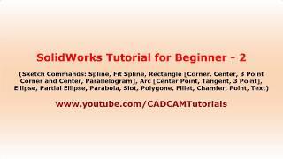 solidworks 2018 tutorial for beginners - मुफ्त