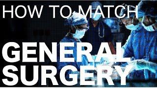 Matching General Surgery Residency