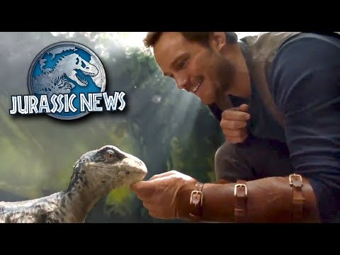 Baby Blue Revealed! New Jurassic World Game! || Jurassic World News Update