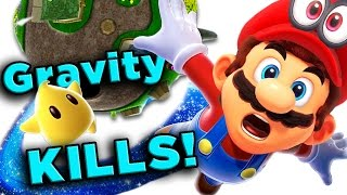 Super Mario Galaxy's DEADLY Physics! | The SCIENCE! ...of Super Mario Galaxy - dooclip.me