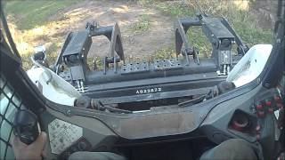 A Grapple on a Bobcat In Use
