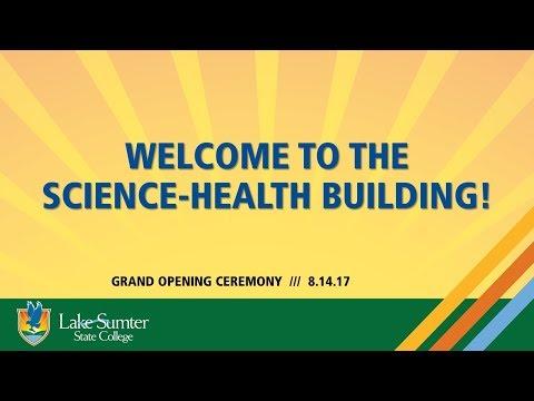 Science-Health Building Slideshow Timeline
