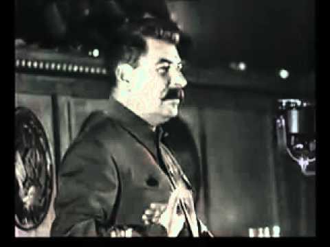 Речь Сталина перед Стахановцами 1935 г. О Кризисе