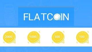 Обзор крана FlatCoin.