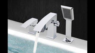 Gappo Смеситель G1107 на борт ванны с ручной лейкой