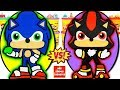 Huevos Sorpresa Gigantes De Sonic Vs Shadow De Sonic Bo