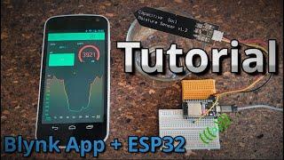 Blynk App ESP32 WLAN Fernsteuerung & Sensoren   Tutorial