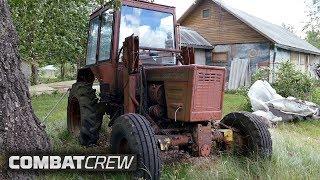 Строим турбо-трактор под Offroad! Начало проекта #ВОВКА