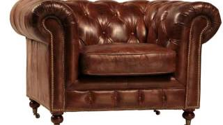 Club Chairs & Living Room Chairs | Leather Club Chair Collections