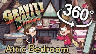 Gravity Falls 360 #2: Attic Bedroom