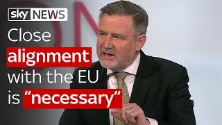 """Barry Gardiner: Close alignment with the EU is """"necessary"""""""
