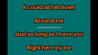 3 Doors Down   Here By Me PH HD Karaoke PK02716