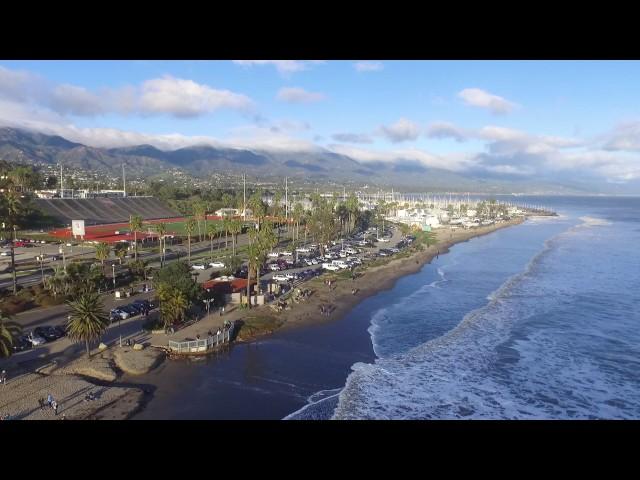 Incredible barrels in Leadbetter beach, Santa Barbara. February 18, 2017 HD
