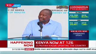 CS Kagwe: We are going to distribute masks through County Governments