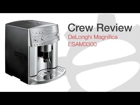 De'Longhi Magnifica ESAM3300, DeLonghi ESAM3300 Magnifica Super-Automatic Espresso/Coffee Machine review