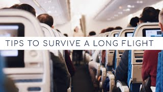 20 Tips to Survive a Long-Haul Flight