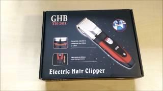 Haarschneider GHB Akkubetrieb 0,8mm-2mm 4 Aufsätze Ersatzakku