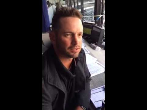Aaron Rowand back with White Sox as fill-in color analyst