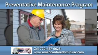 Peachtree City Air Conditioning | American Freedom Heating & Air LLC