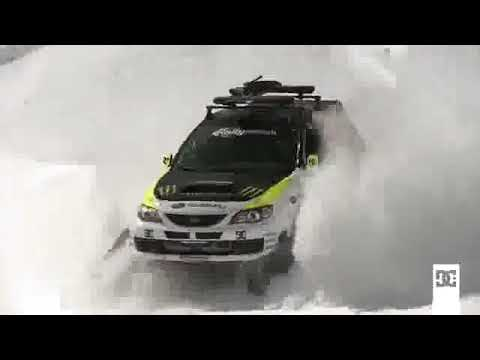 Fasters Snow Cat In The World  Subaru Impreza WRX STI