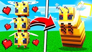 How to SPAWN A QUEEN BEE in Minecraft Tutorial! (Mobile, PS4, Xbox, PC, Switch)