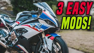 3 EASY Mods I Shouldve Done Sooner on my Motorcycle