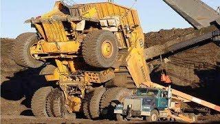 Extreme Dangerous Climbers Dump Truck Bulldozer Operator - Largest Heavy Equipment Machines Monster