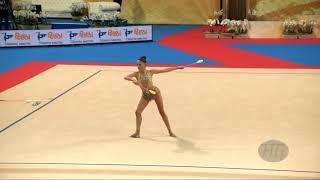 VLADINOVA Neviana (BUL) - 2018 Rhythmic Worlds, Sofia (BUL) - Qualifications Clubs