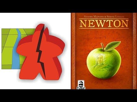 The Broken Meeple - Newton Review