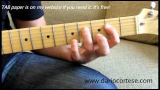 Alan Jackson - I Don't Even Know Your Name Part 3 of 3 (Country Guitar Lesson)