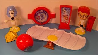 2014 Mr PEABODY And SHERMAN SET OF 6 McDONALDS HAPPY MEAL MOVIE TOYS VIDEO REVIEW