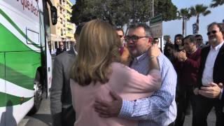 preview picture of video 'Susana Díaz en Roquetas de Mar'