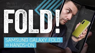 Samsung Galaxy Fold Hands-On: The Folding Phone Is Back!