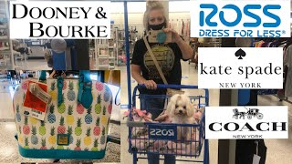 Ross! Designer Bag MOTHER LOAD! Dooney And Bourke Kate Spade CK Coach!