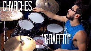 "Drumming Along To ""Graffiti"" By CHVRCHES - Richie Martinez"