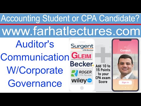 Auditor's Communication with Corporate Governance and ...