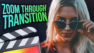 How To Make A Zoom Through Transition - Final Cut Pro X