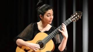 Brouwer Sonata I Mov.1 (Fandangos Y Boleros) Andrea Gonzalez Caballero