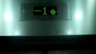 preview picture of video 'Electra elevators at IKEA in Rishon Lezion(Exit elevators)'
