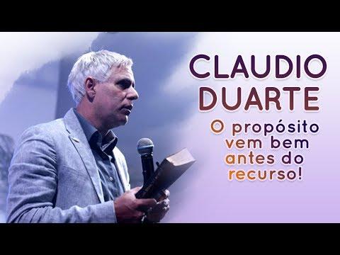 Ministração sobre Palavra de Fé - O propósito vem bem antes do recurso | Pr. Cláudio Duarte
