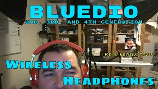 Kevin Reviews Stuff | Review of the 2nd, 3rd, and 4th Generation Bluedio Wireless Headphones