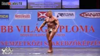2012 World Championships BUDAPEST   master bodybuilding over 65y   2