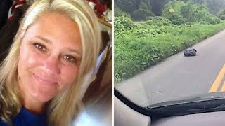 Woman See Trash Bag On The Side Of Road. When She Looks Inside Her Heart Drops