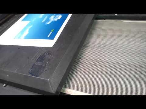 Maquina Sakurai UV a pliego