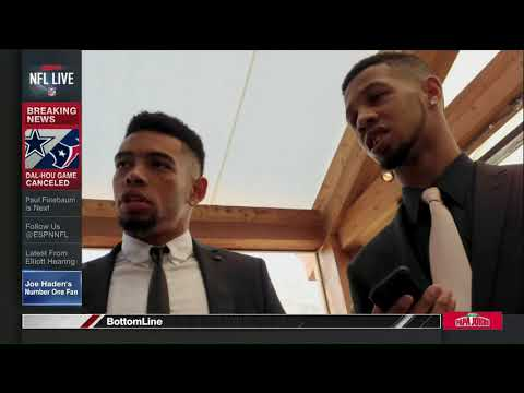 Joe Haden is #1 to his brother after saving his life. (w/Josina Anderson)