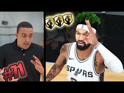 NBA 2k18 MyCAREER - Rookie of the Year Talk! Gold Mid Range Deadeye Unlocked! Ep.71