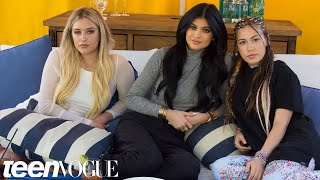 Kylie Jenner Answers Questions From Her BFFs | Teen Vogue