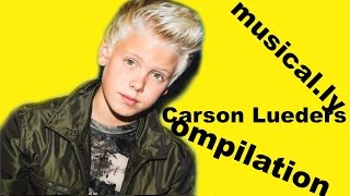 The Best Carson Lueders musical.ly app Compilation Video | All  Carson Lueders